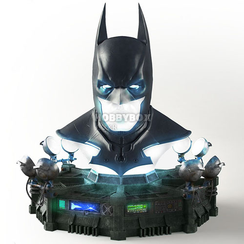 (예약마감) Batman Cowl Full Scale Replica / 아캄 오리진(Arkham Origins)